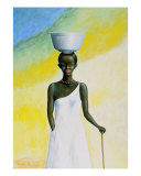 The African Woman Giclee Print by Necip Tuyeni