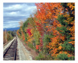 Conway Railway In The Fall Photographic Print by Dean Giolas