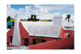 Colorful Traditional House, St George, Bermuda Photographic Print by George Oze