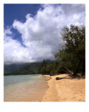 Kualoa Beach In Oahu Photographic Print by Lorrie Morrison