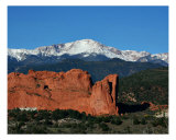 Pikes Peak Photographic Print by Monica Bryant