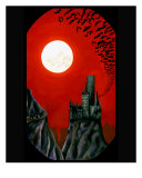 Castle Dracula Giclee Print by Derek Mckindles