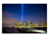 911 Lights Over Manhattan Tribute Giclee Print by New Yorkled