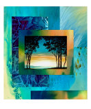 Hill Country Trees Series-1 Giclee Print by Art By Kim