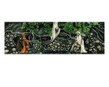 Yggdrasil and Norns Giclee Print by Derek Mckindles