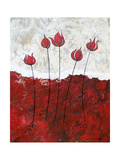Fleurs chatoyantesII Art par Herb Dickinson