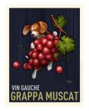 Grappa Muscat - Beagle Giclée-Druck von Chad Otis