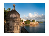 City Walls, Old San Juan, Puerto Rico Photographic Print by George Oze