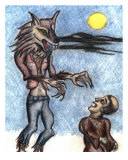 Werewolf Giclee Print by Derek Mckindles