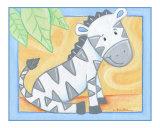 Zebra Giclee Print by Cheryl Burke