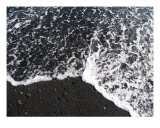 Black Beach Photographic Print by Mary Lane