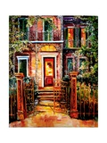 Garden District Gate Giclee Print by Diane Millsap