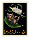 Soyeux Bitteres Qualite - Yorkie Giclee Print by Chad Otis