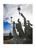 La Rogativa Sculpture, San Juan, Pr Photographic Print by George Oze