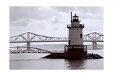 Lighthouse on The Hudson, Tarrytown, New York Photographic Print by George Oze