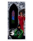 Spiritualist and Flutist Giclee Print by Derek Mckindles
