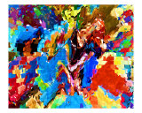 Delta Color Mania - Fine Art Wall Decorations V1 Giclee Print by Navin Joshi