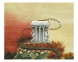Temple of Janus Giclee Print by Derek Mckindles