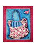 Diva Handbag By Giclee Print by Megan Aroon Duncanson