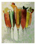 Cocktail Impressions Photographic Print by Florene Welebny