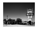 66 Motel Photographic Print by John Gusky