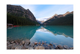 Lake Louise Tranquility, Alberta, Canada Photographic Print by George Oze