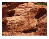 Red Rock Faces Photographic Print by Mary Lane