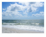 Beach Waves Photographic Print by Florene Welebny