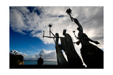 La Rogativa Sculpture, San Juan, Puerto Rico Photographic Print by George Oze
