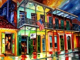 Down On Bourbon Street Giclee Print by Diane Millsap