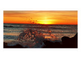 High Tide At Sunset Photographic Print by Lance Aaron