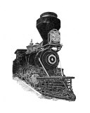 Train 3 Giclee Print by David H. Doucot