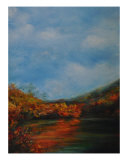 Autumn In N-Ga Giclee Print by Douglas King