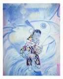 Harlequin Baby Giclee Print by Phoebe Legere