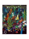 Garden Of Wishes Giclee Print by Ruth Palmer