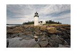 Lighthouse View, Port Clyde, Maine Photographic Print by George Oze