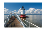 Tarrytown Lighthouse on the Hudson River Photographic Print by George Oze