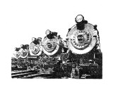 Train 2 Giclee Print by David H. Doucot