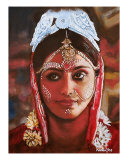 Indian Bride Giclee Print by Karen Yee