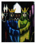 The Marriage of Queen Seraphia Giclee Print by Derek Mckindles