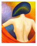 Modern Geisha Giclee Print by Necip Tuyeni