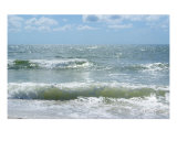 Beach Waves II Photographic Print by Florene Welebny