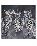 Zebra Painting Print Giclee Print by Derek Mccrea
