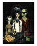 The Frankensteins Giclee Print by Derek Mckindles