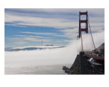 The Fog Be Tick on the Golden Gate Bridge Photographic Print by Brendan Mcweeney