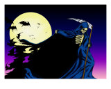 The Creeping Shadow Giclee Print by Bob Veon