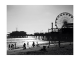 Santa Monica Photographic Print by John Gusky