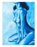 Seated Nude 1 Giclee Print by Ira Mitchell