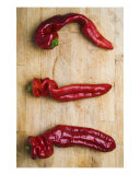 Three Chilis Photographic Print by Alex Bramwell