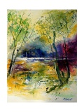 Watercolor 90801 Giclee Print by Ledent